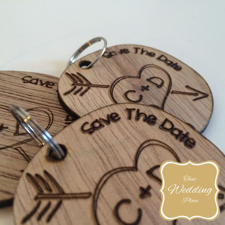 Wedding Save The Date - Keyring