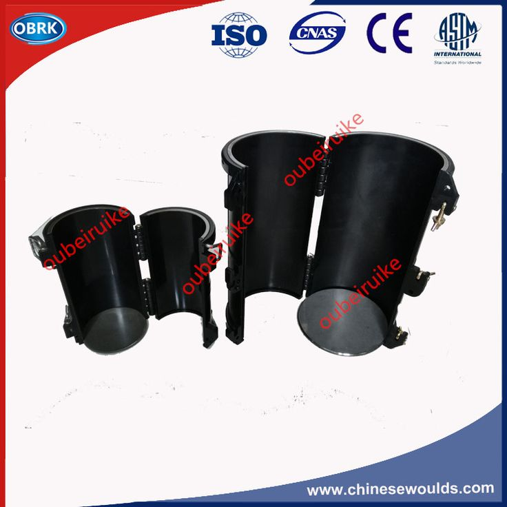 Dia.150x300mm Detachable Concrete Cylinder Plastic Molds Electric Flux Plastic Cylinder Moulds