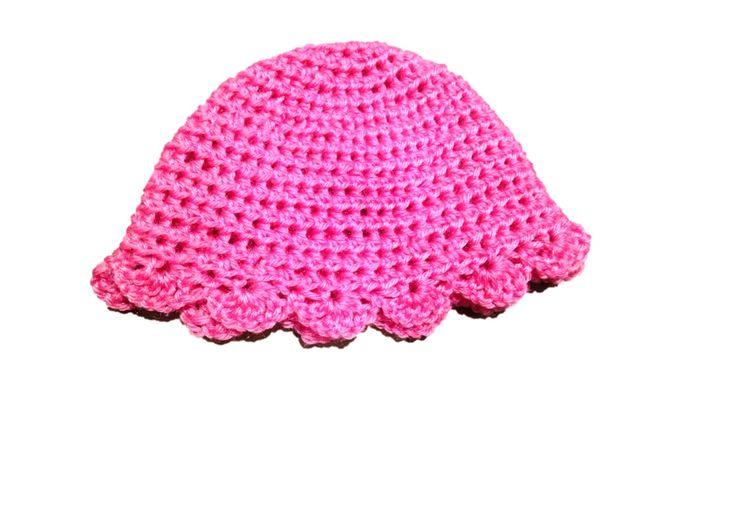 Crochet Lace Hat