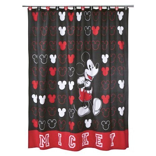 Find This Pin And More On Disney Mickey Mouse Shower Curtain And Bath  Accessories By Bestoftheweb.