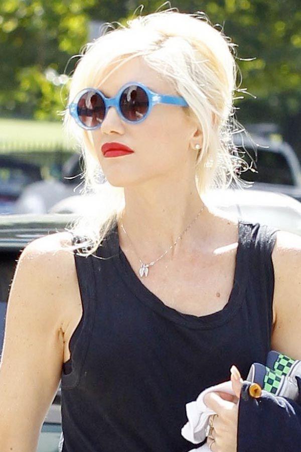 Gwen Stefani in Quay E... Gwen Stefani Glasses