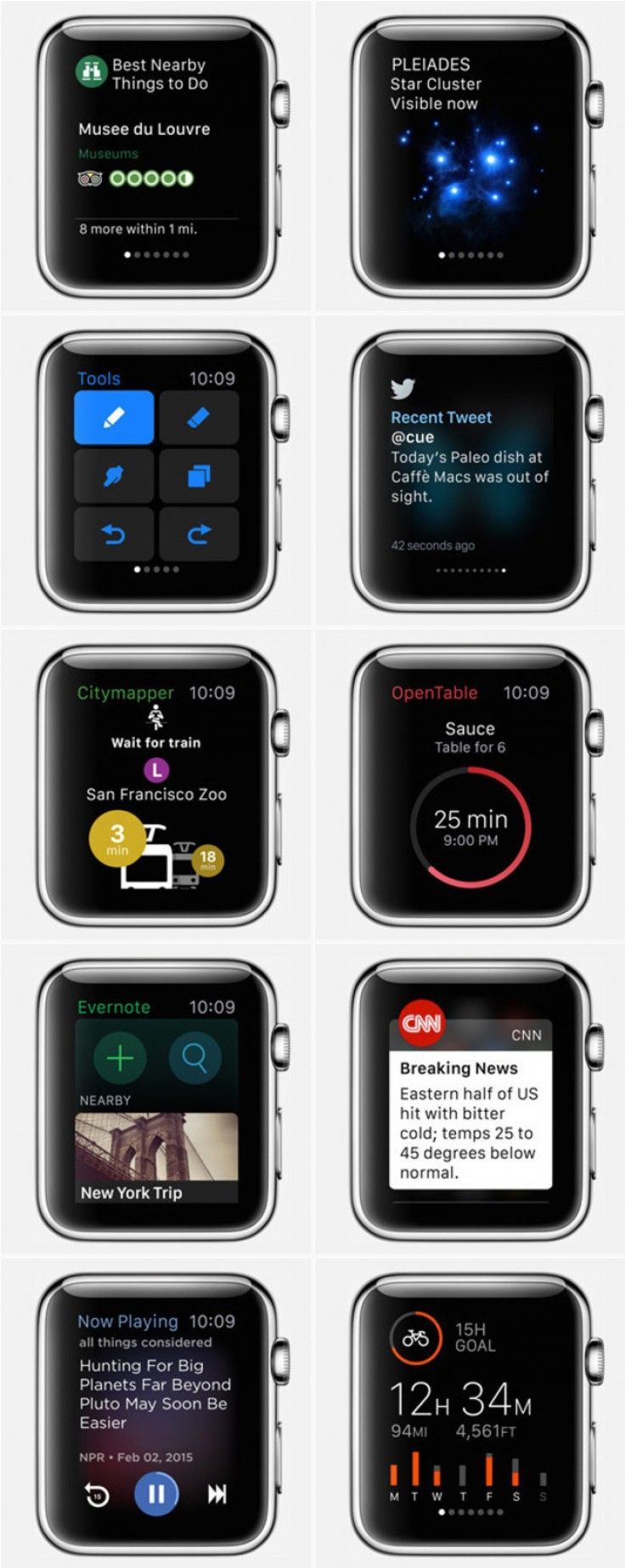 My Picks: Apple Watch Apps #Fave401689