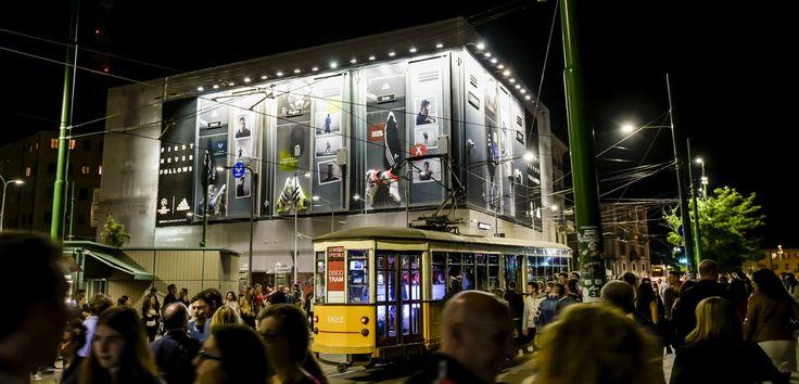 #Adidas #Uefa #billboard #mockup #3D #Milano #Darsena  #UrbanVision #Addendo #messi #pogba #bale