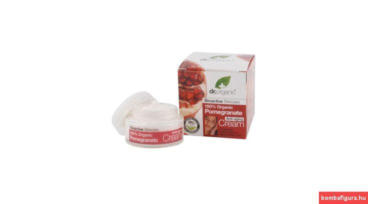 Dr. Organic Bio Gránátalma Nappali Krém 50 ml
