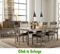7 Piece Hudson Dining Group By Standard At Furniture Warehouse