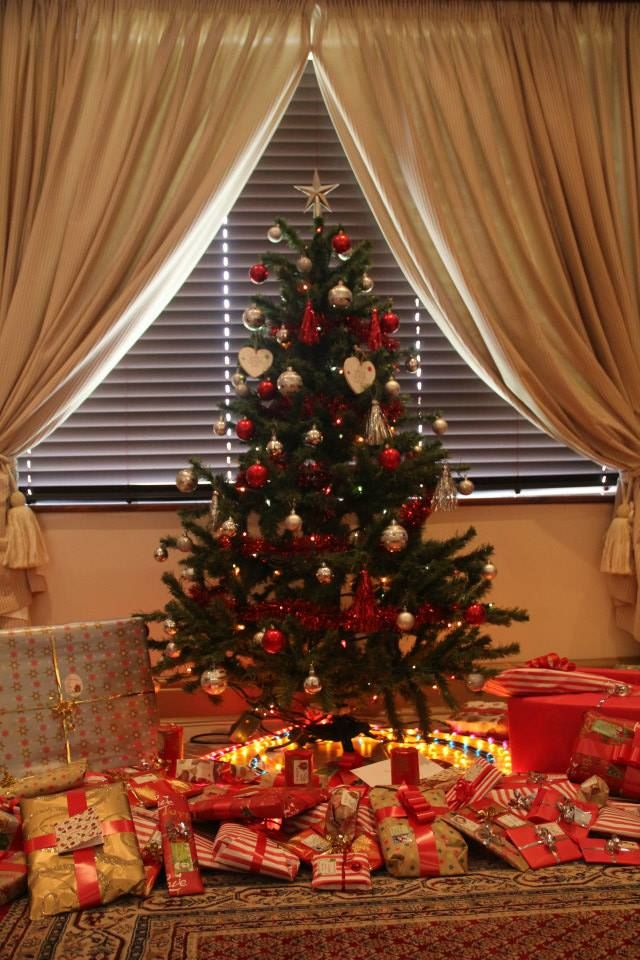 I love my Christmas tree, with gifts for my very special family! #GETFESTIVEWITHORMS
