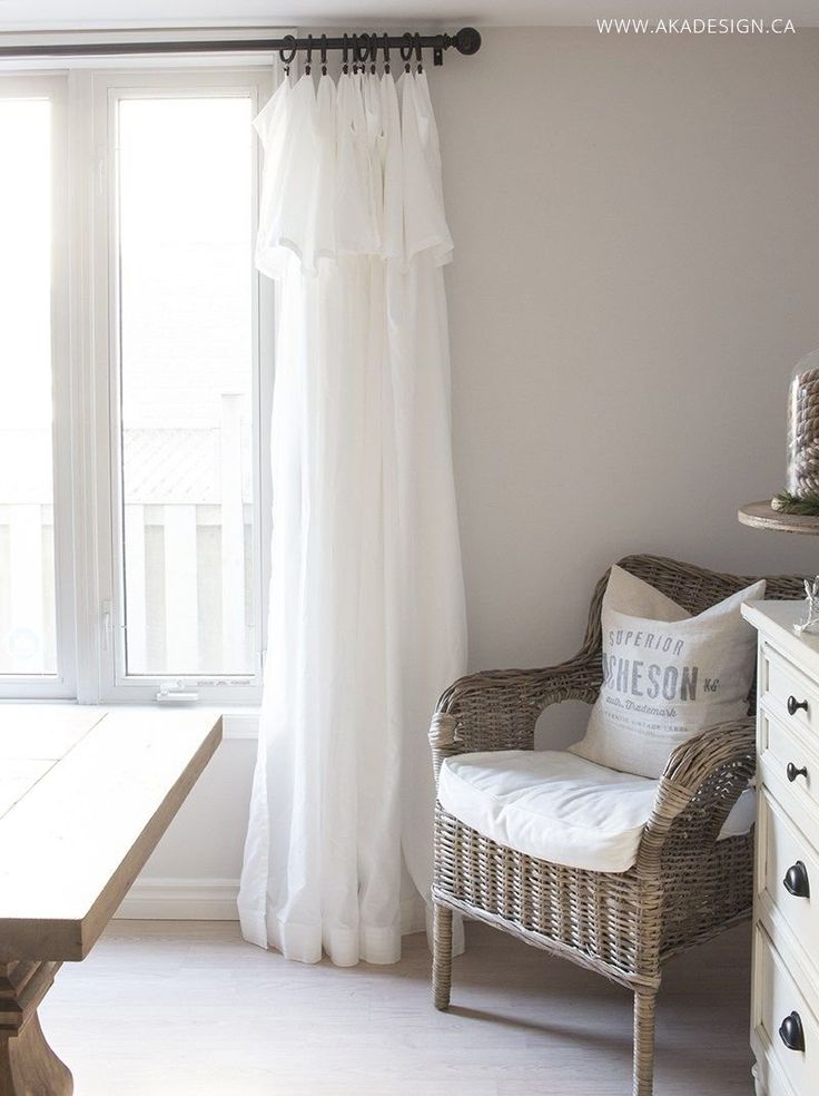 Inexpensive Curtains - Ikea Curtain Hack | 1000 ...