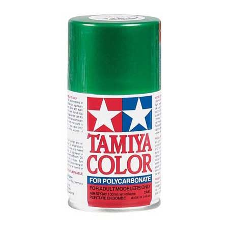 Tamiya 86017 Tamiya PS-17 Polycarbonate Spray Metal Green 3 oz