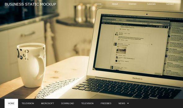 Business Portfólio Mockup Blogger Template é um template blogger para blog de portfólio, design, fotografia e etc. Com layout responsivo, Business Portfólio Mockup tem 2 colunas, 1 sidebar na direita, cabeçalho personalizado, menu horizontal drop-down, box assinar feed via email, botões de compartilhamento social, guias de widget, posts relacionados, perfil do autor abaixo de cada post, locais para posicionar anúncios e muito mais.
