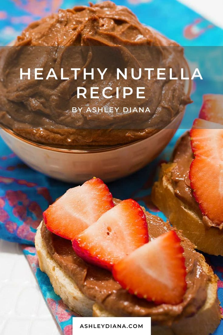 A delicious homemade healthier Nutella recipe hat is vegan and refined sugar free. Perfect for breakfast, snacks or even dessert.