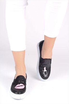 Siyah Sim Ayakkabı 5136