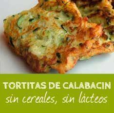 Tortitas paleo de calabacin
