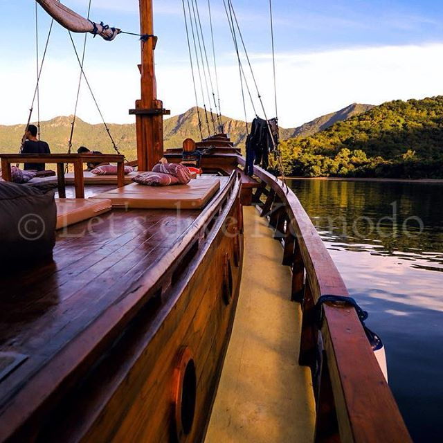 What's better than waking up in the morning on a boat surrounded with serenity, followed by an early morning dive?  #Letsdivekomodo #Komodo #Labuanbajo #Indonesia #liveaboard #experience #happy #morning #scuba #diving #serenity #nature #boat #explore #ocean #sea #marinelife #travel #holiday #wanderlust #bucketlist #photography #livetoscuba #lifestyle #lonelyplanet #earthday2016 #instadaily #photooftheday #exploreindonesia #wonderfulindonesia