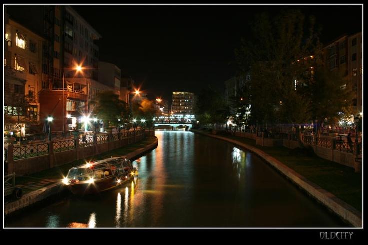 Night in Eskişehir...