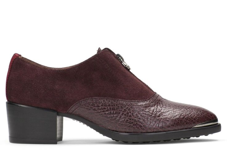 Ankle-boot-shoe BURGUNDY REF. HI51710
