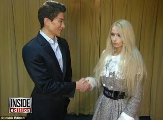 Chatter Busy: Real-Life Barbie Valeria Lukyanova Slams Real-Life Ken Justin Jedlica After First Meeting