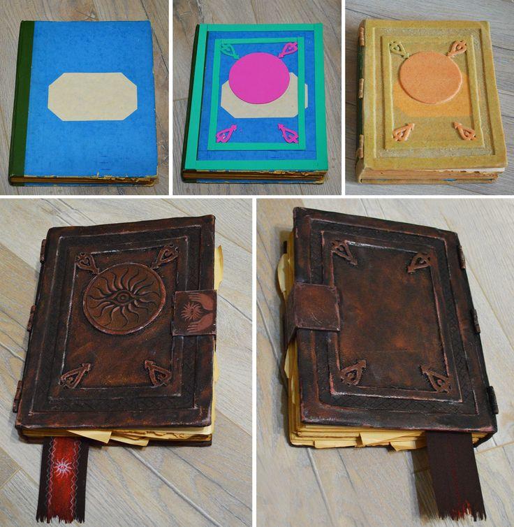 Codex book by HydraEvil.deviantart.com on @DeviantArt - old book - eva foam - worbla - acrylic paints