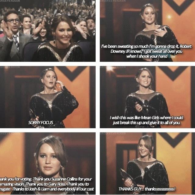 Jennifer Lawrence everyone