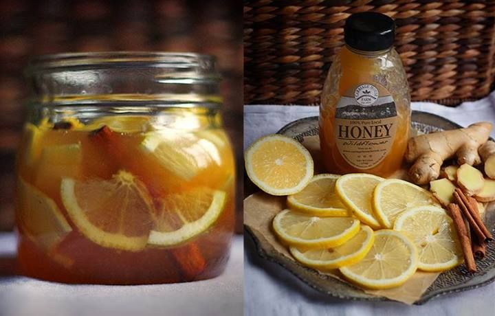 Nie poddajemy się jesiennym chorobom: cytryna, lemon, imbir,cynamon