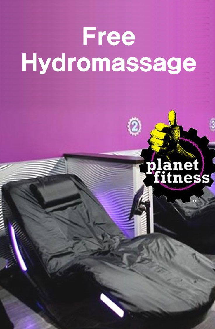 Free Hydromassage At Planet Fitness Planet Fitness Workout Fitness Planets