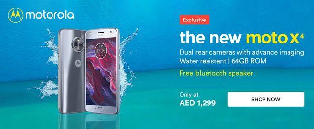 Offers in Dubai: Moto X4 at just AED1299.00 in Souq.com