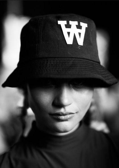 Bucket hat. Fashion trend 2015.