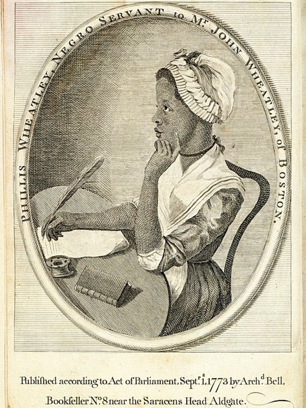 Phillis Wheatley became the first African American and first U.S. slave to publish a book of poems, as well as the third American woman to do so.