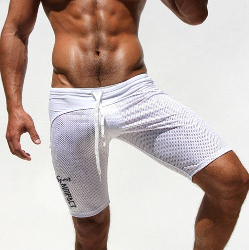 Athletic Men's Sport Tight Shorts Leisure Summer Fitted Gym Men Workout Shorts Skinny Running Yoga Fight Short for Men AQ160611