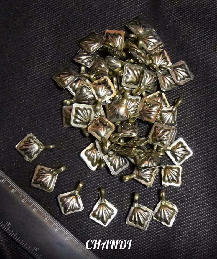 26 Medalion TURKAMAN Coins TribalFusion Gypsy Bellydance Jewelry Findings Brice