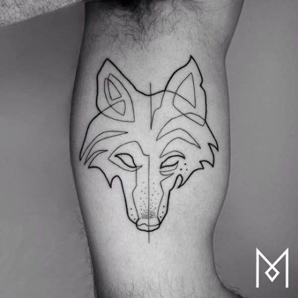 Best Straight Line Tattoo Artist : Best images about single continuous line tattoos on