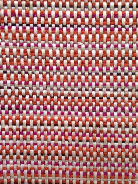 Coral Tweed Upholstery Fabric   Woven Orange Heavyweight Textiles For  Furniture   Raspberry Upholstery   Coral
