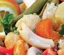 Salade de pâtes tropicale