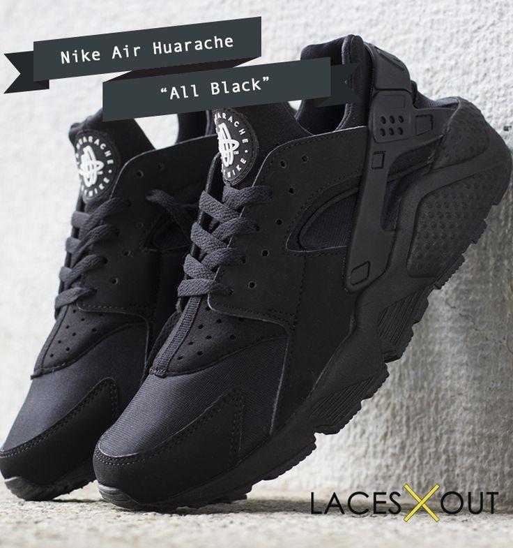 Best Nike Air Huarache All Black