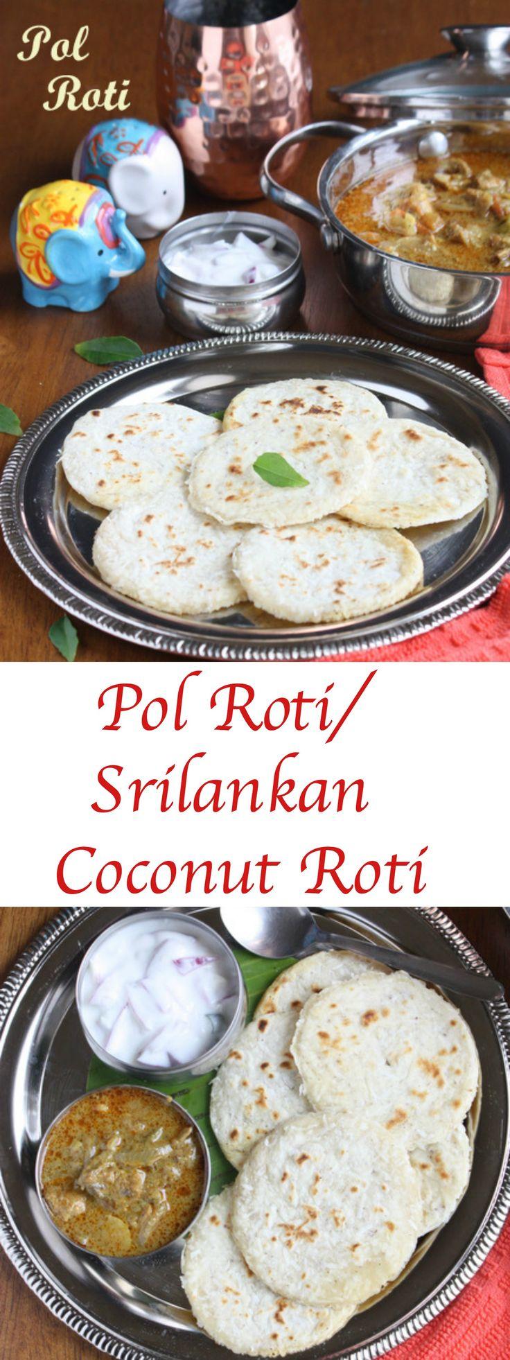 Pol Roti | Srilankan Coconut Roti | Coconut Roti Recipe