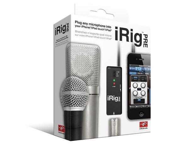 Irig pre interfaccia microfono xlr per iphone ipod ipad android
