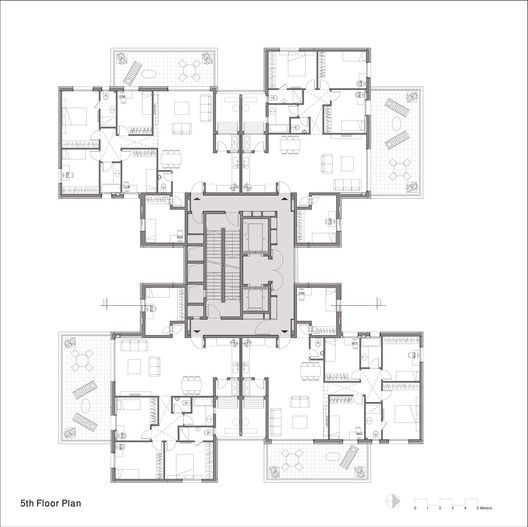 Z Design Building,Plan