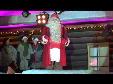 Christmas Opening 2016 of Santa Claus Village in Rovaniemi in Lapland