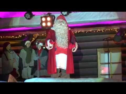 Fête d'ouverture de saison du Noël 2016 Village du Père Noël Laponie