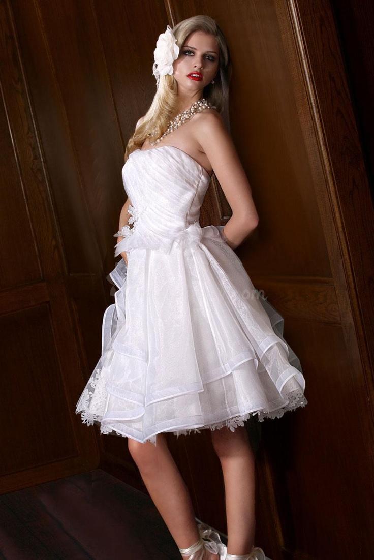 28++ Short sleeveless wedding dresses info