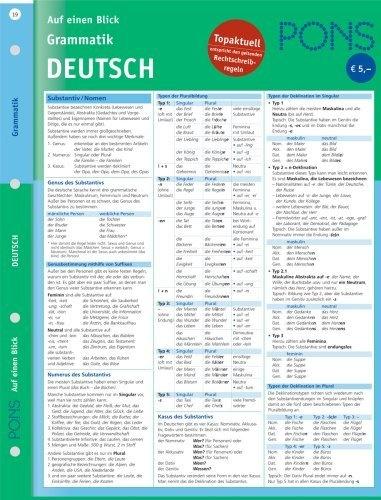 PONS Grammatik auf einen Blick. Deutsch von Renate Weber, http://www.amazon.de/dp/3125607019/ref=cm_sw_r_pi_dp_-4kZqb009Y48V