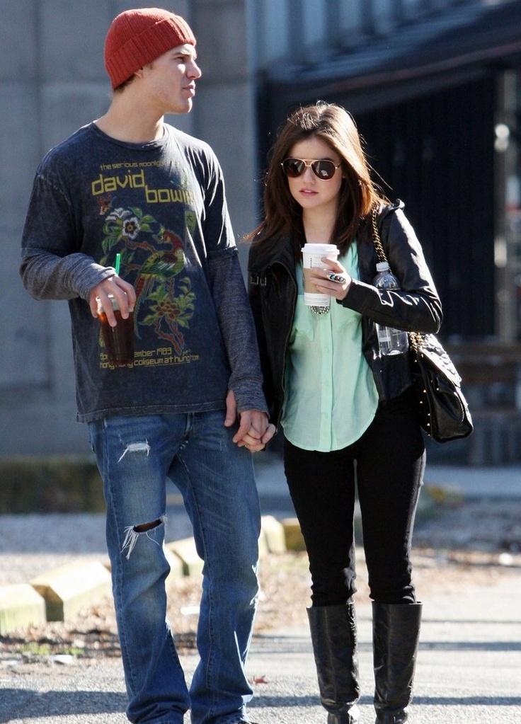 Starbucks+Lucy Hale + Boyfriend+ Rebecca Minkoff Affair= Perfection.