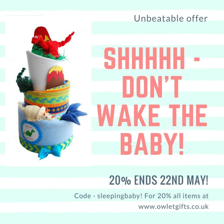 Discount code for baby gifts. Get 20% off all baby gifts, nappy cakes, baby favors, baby shower gifts. Crazy prices until 22nd May 2017.