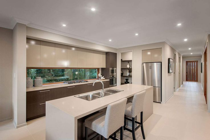 This beautiful kitchen is the heart of this lovely home #weeksbuildinggroup #newhome #homedesign