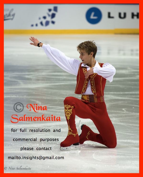 Michal Brezina CZE at Finlandia Trophy October 2015