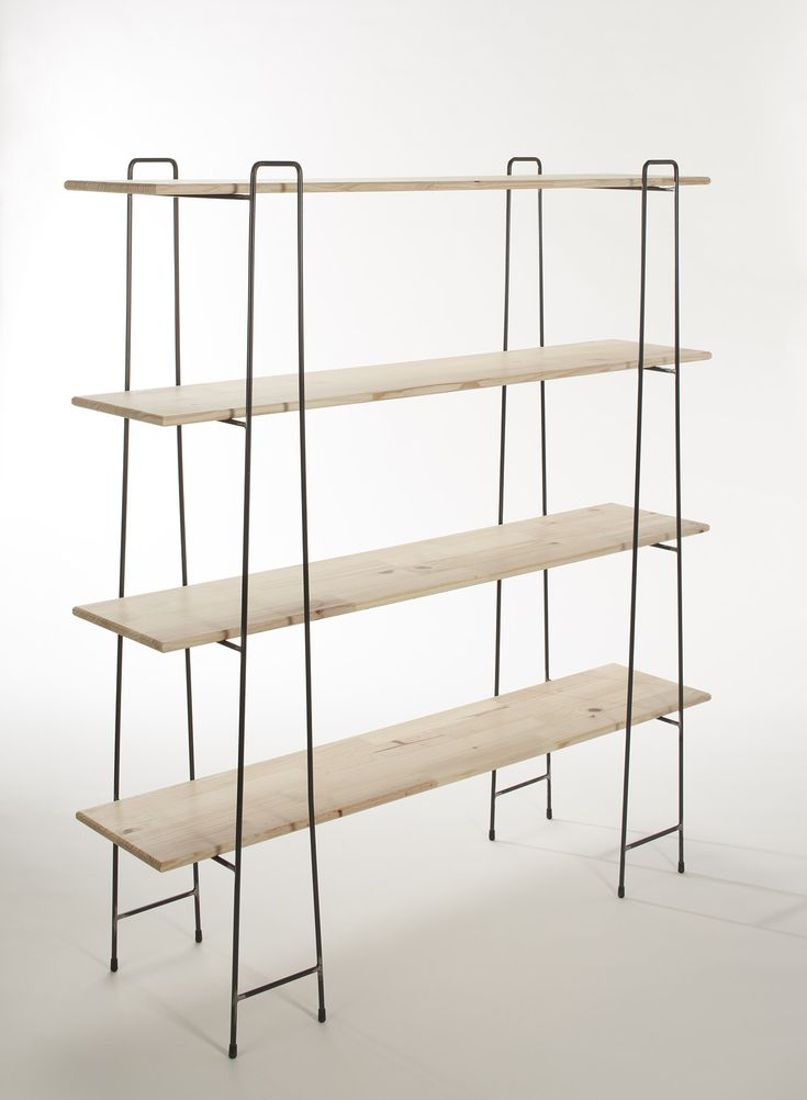 A free standing shelving unit achieves a minimal look, which is honest to its materials and usage. Adjustable and flat packable characteristics encourage easy living, which, true to the brand, distill the design to a functional but basic form. Please enquire for other colour options. Please enquire at jabbaeales@yahoo.com if you are interested in this product. Please Note: All prices are for South Africa. For international orders please enquire, by clicking here. Materials: Epoxy coated ...