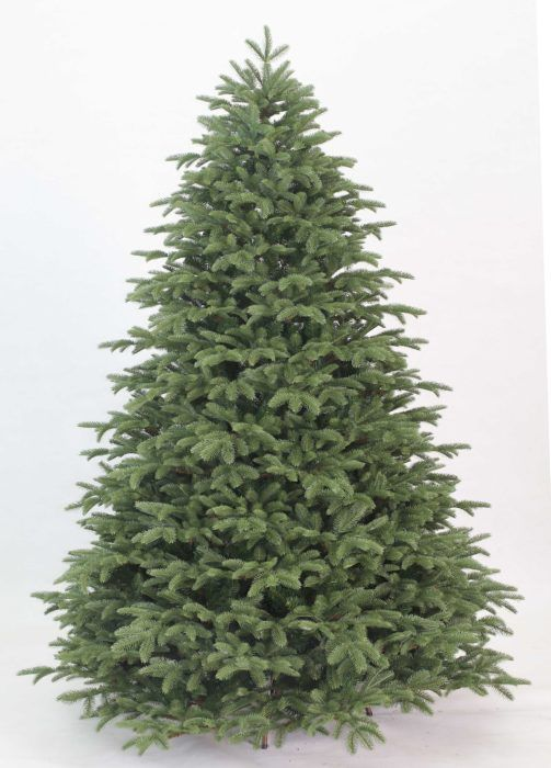 9 Foot Cypress Spruce Artificial Christmas Tree With 2050 Warm White LED Lights | King Of Christmas