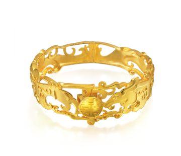 Dragon and Phoenix Bangle - Chow Sang Sang Jewellery - Style: 78862K
