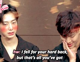 Monsta X | Hyungwon and Shownu are having relationship issues lmao