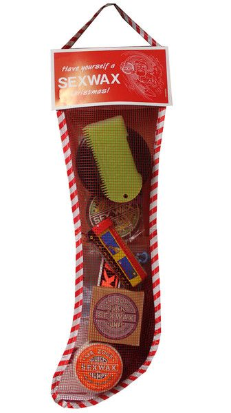 Our fave Christmas stocking full of surf goodies! www.surfgirlbeachboutique.com