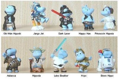Kinder Surprise - Happy Hippo Star Wars...